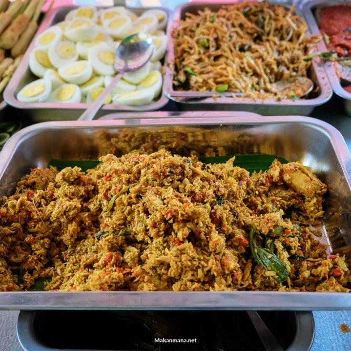 Ikan Suwir Nasi Bali