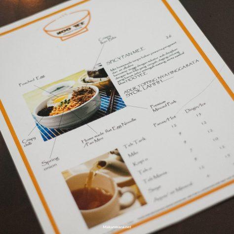 menu hoo yee