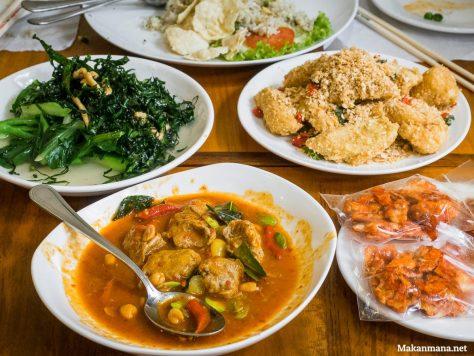 makan di green bean vegetarian house