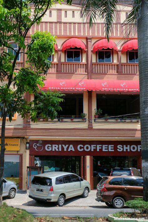 Tampak Luar Griya Coffee Shop