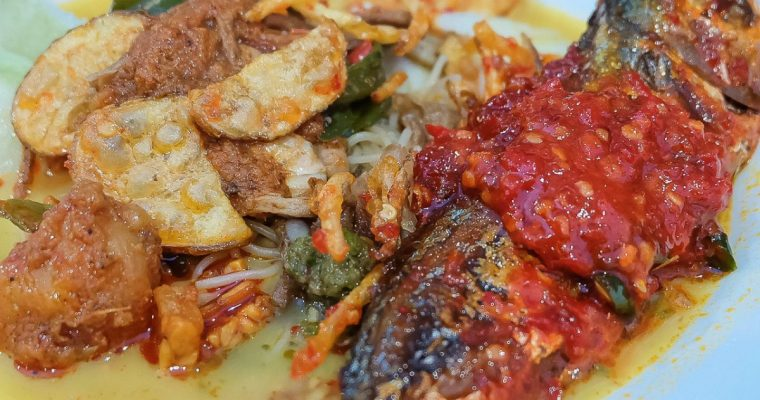 Lontong Mamak, is it as good as our own Mamak's cooking? 1