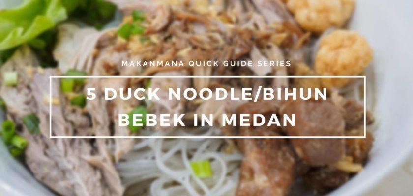 5 Duck noodle/Bihun Bebek in Medan 1
