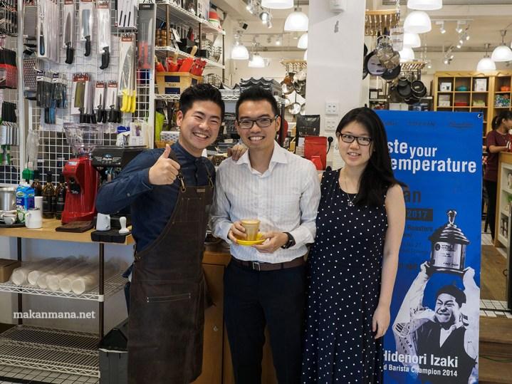 Taste Your Temperature with Hidenori Izaki, World Barista Champion 2014 4