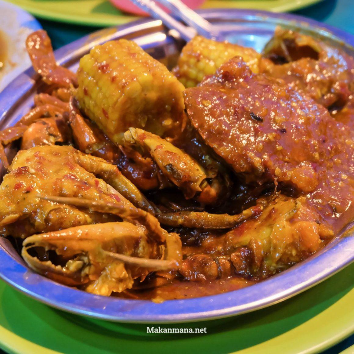 Kepiting Indra Ikan Bakar