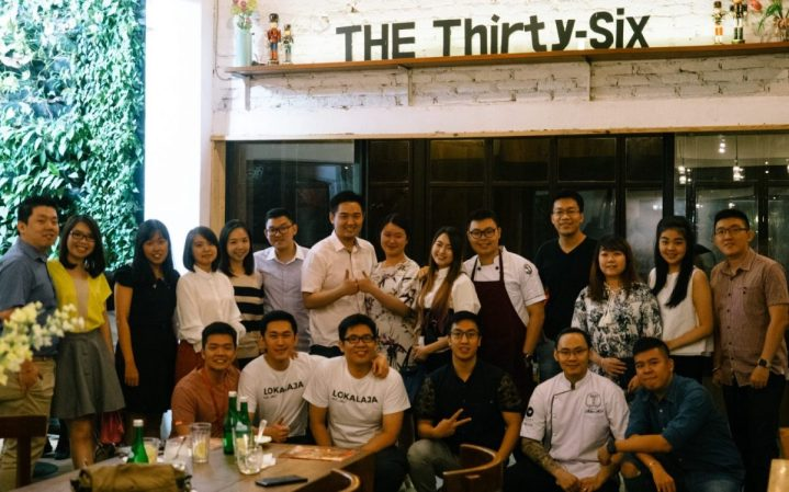 Degustation with Milen & Adrian at The Thirty Six Cafe Multatuli 17