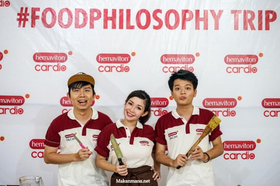 #FoodPhilosophyMedan dengan Hidup Healthy 28