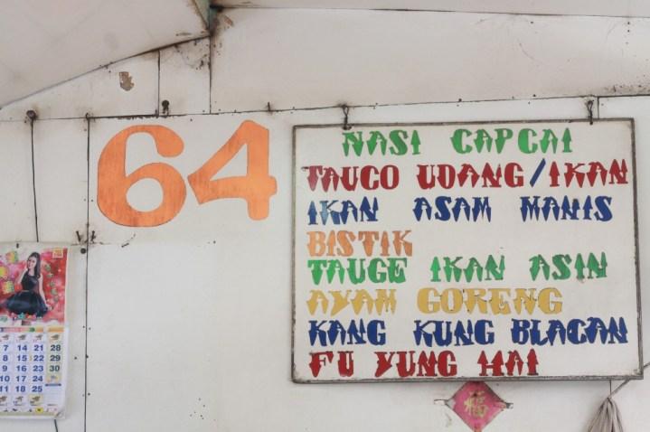 I named it 'Toko 64': Chinese Food Satu Hati 1
