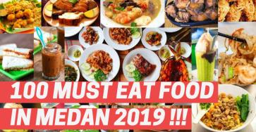 100 Must Eat Local Street Food in Medan 2019! 4