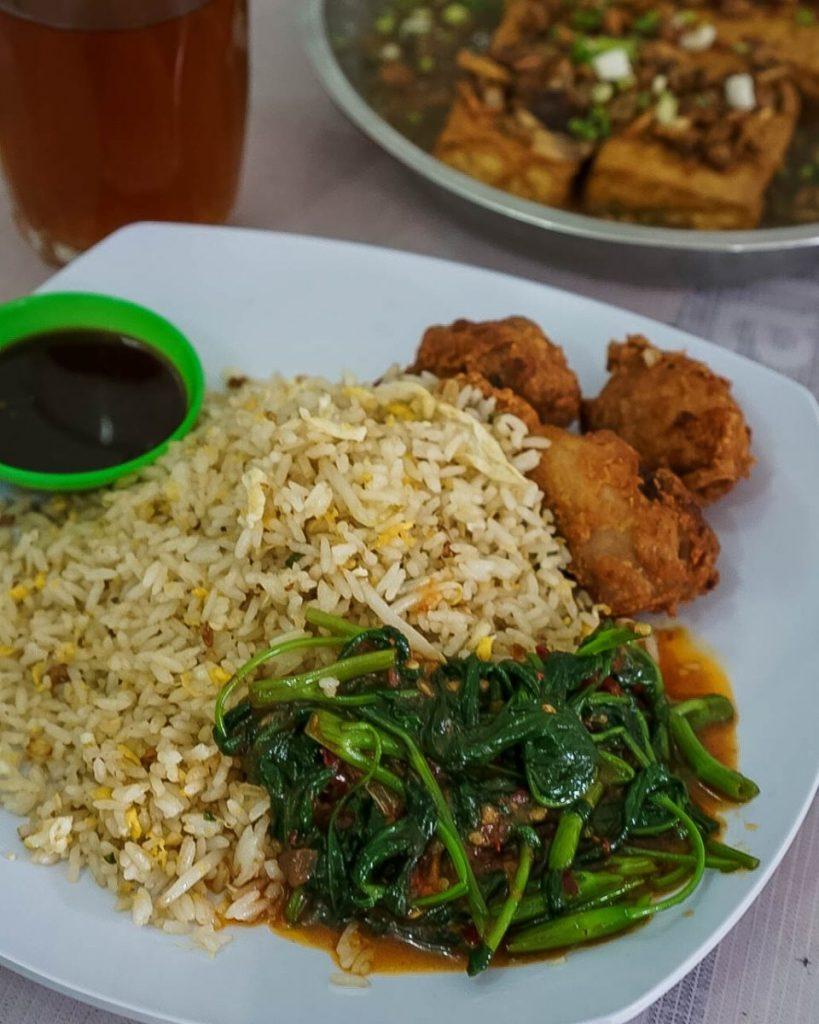 nasi simangunsong rumah makan david kuliner medan