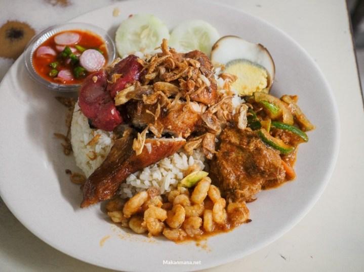 nasi ayam selat panjang sp 3 kuliner medan