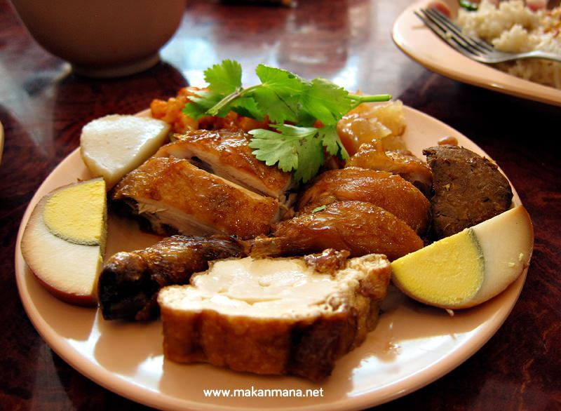 nasi hainam asli selat panjang hainanese chicken rice