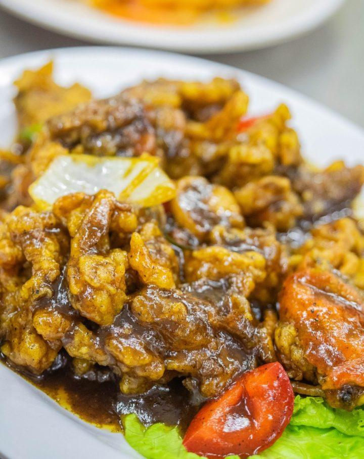 kepiting lunak lada hitam wajir seafood kuliner medan