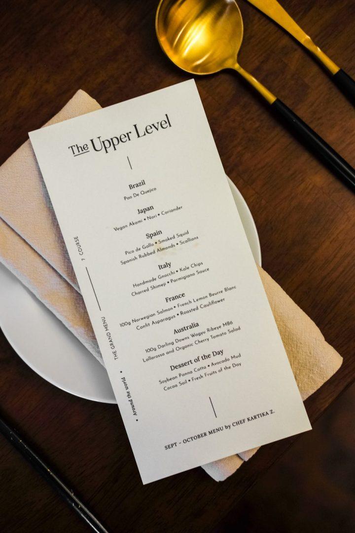 The Upper Level — Fine Dining di Medan, Serasa Dibawa Keliling Dunia 30