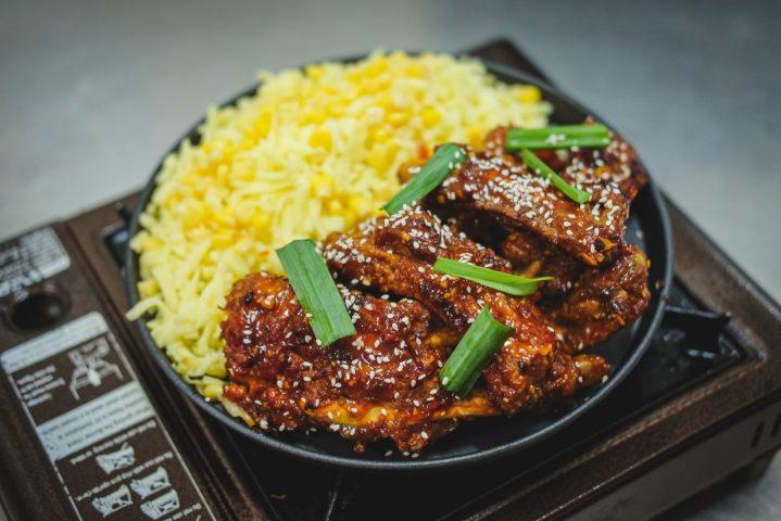 Korean Rolling Cheese Ribs