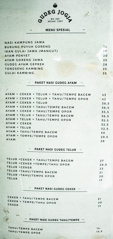 Gudeg Jogja Bu Ari—Tweaked Biar Cocok Dengan Lidah Lokal 5