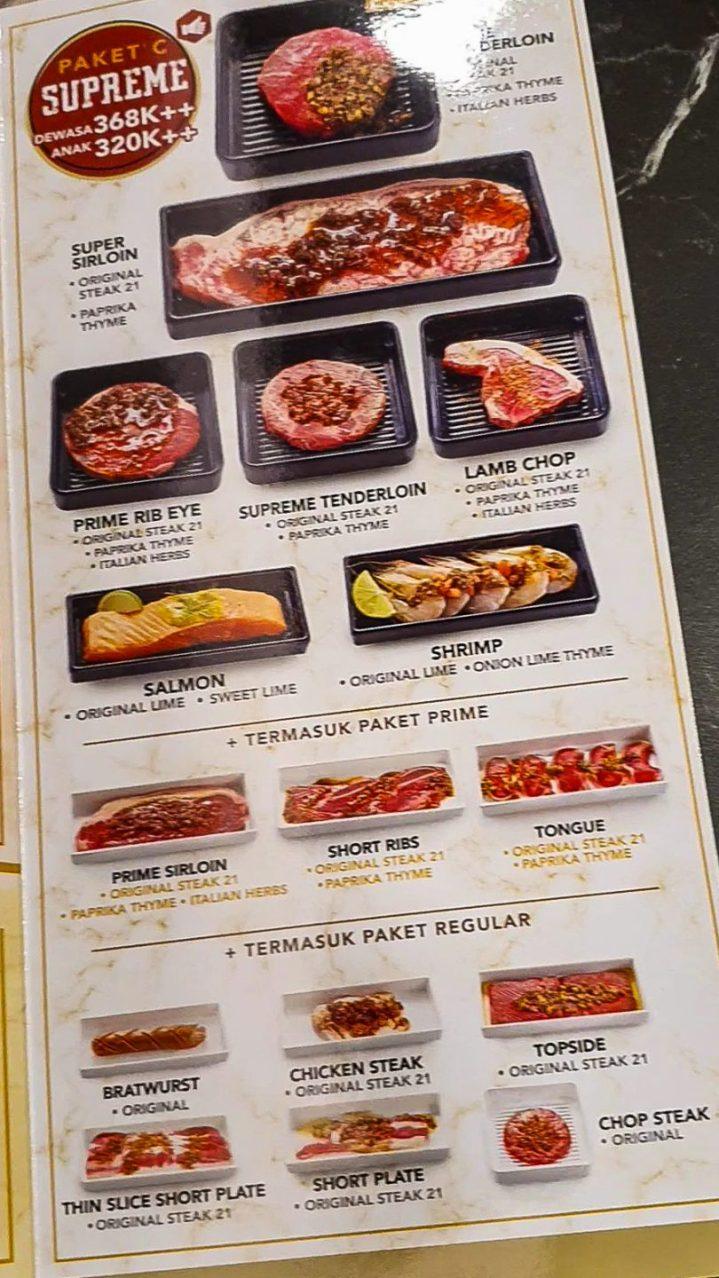 ALL YOU CAN EAT! Steak 21 Buffet di Deli Park Podomoro Medan 5