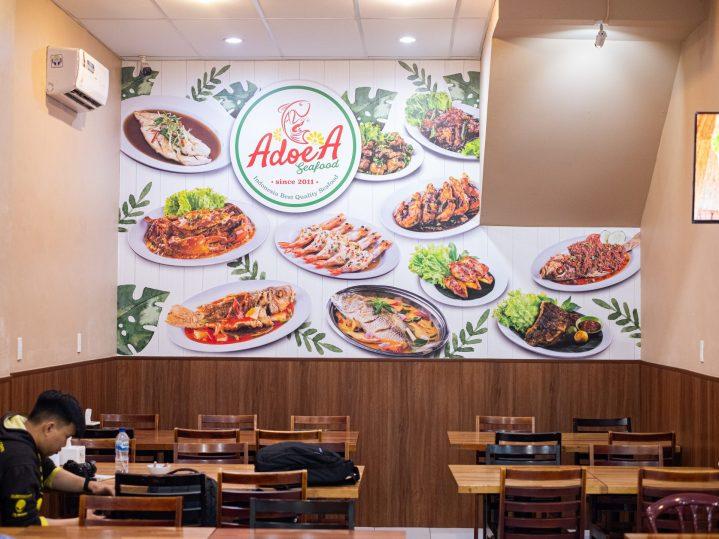 Renovasi RM AdoeA Seafood Restaurant yang Mengejutkan di awal tahun 2020. 2