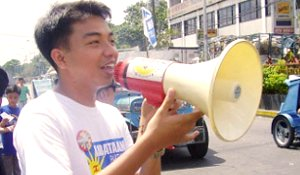 Kabataan Party Rep. Mong Palatino