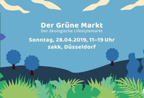 Grüner Markt in Düsseldorf Aussteller