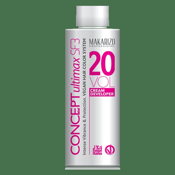 Concept Ultimax Cream Developer SF3 20 Volume Bottle 135ml