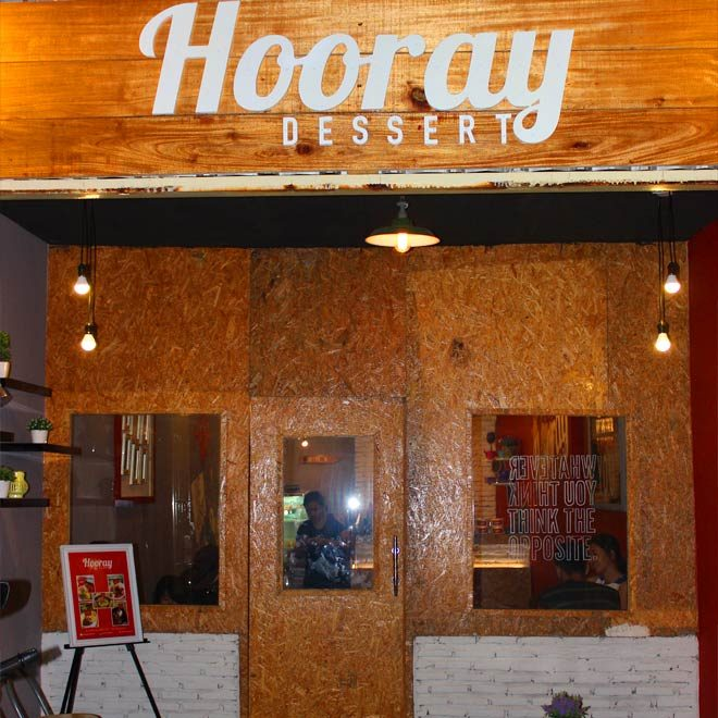 Hooray Dessert - Cafe