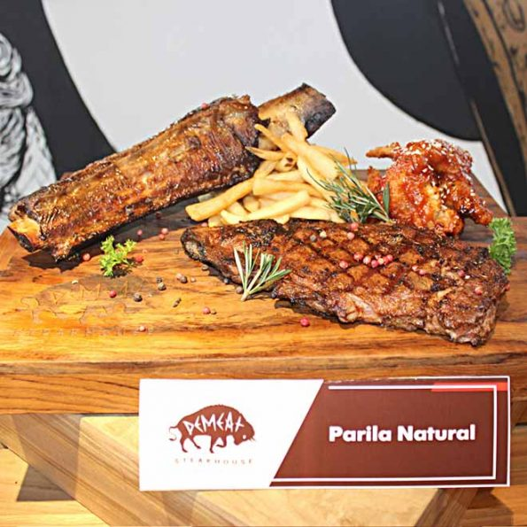 DeMeat Steak House & NOX Coffee Boutique - Parilla Natural - 559k