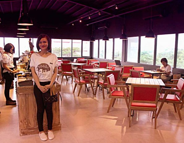 DeMeat Steak House & NOX Coffee Boutique  - Roof top lantai 5 gedung Natasha