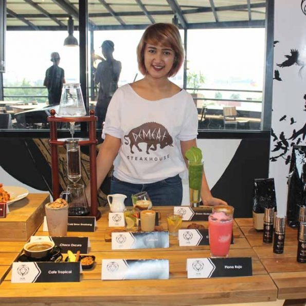 DeMeat Steak House & NOX Coffee Boutique - Berbagai Varian menu Kopi
