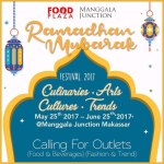 Food Plaza Manggala Junction Gelar Ramadhan Mubarak