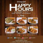 Happy Hour di D'Liquid Sajikan Banyak Menu Promo