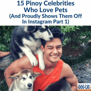15 Pinoy Celebrities Who Love Pets And Proudly Shows Them Off In Instagram (Part 1)