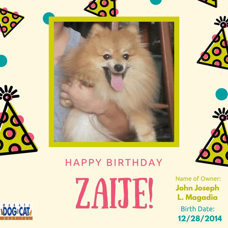 Happy Birthday, Zaije!
