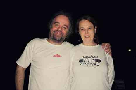 Miljenko Jergović sa suprugom Anom Bogišić