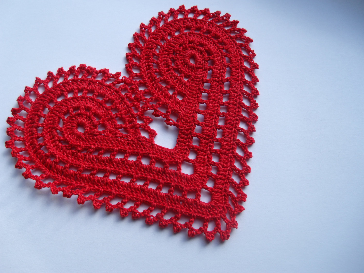 Valentine Ts For Women Crocheted Heart For Fashion