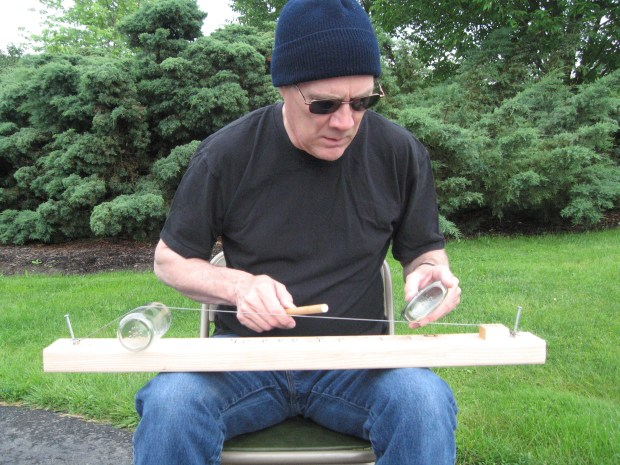 The Diddley Bow A Primitive Guitar Make