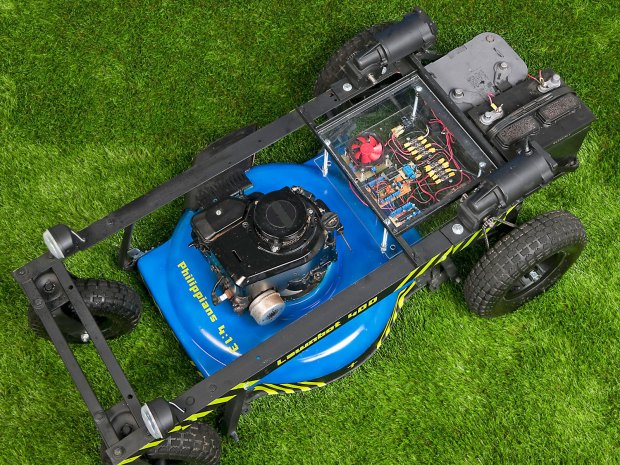 Lawnbot400 Make Diy Projects How Tos Electronics