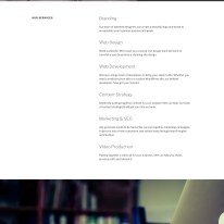 The homepage of Twenty Seventeen, featuring a multi-page layout.