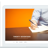 Default WordPress Theme Twenty Seventeen Demo Has Been Released