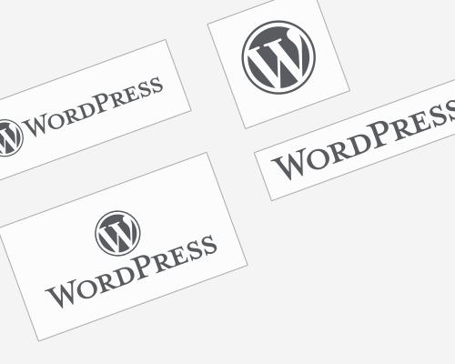 WordPress ロゴタイプ - 全バージョン