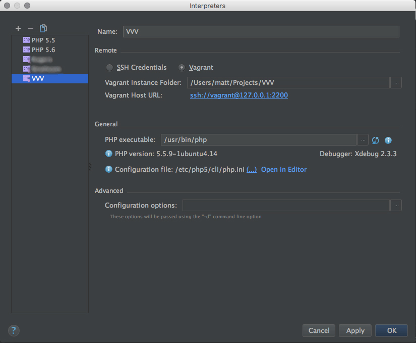 Running PHPUnit tests with VVV and PhpStorm – Make XWP