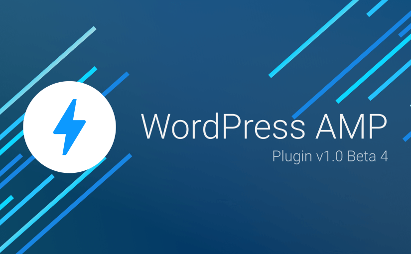 WordPress AMP v1.0 beta 4
