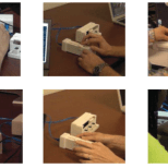 Examples of the different hand positions used by study participants.