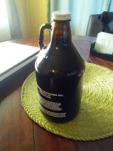 And a growler because it's Friday night. (Not pictured - My favorite guy.)