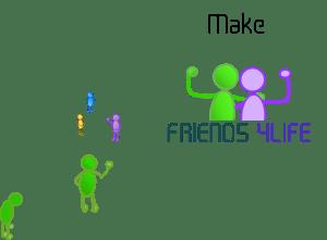 make a friend4life banner