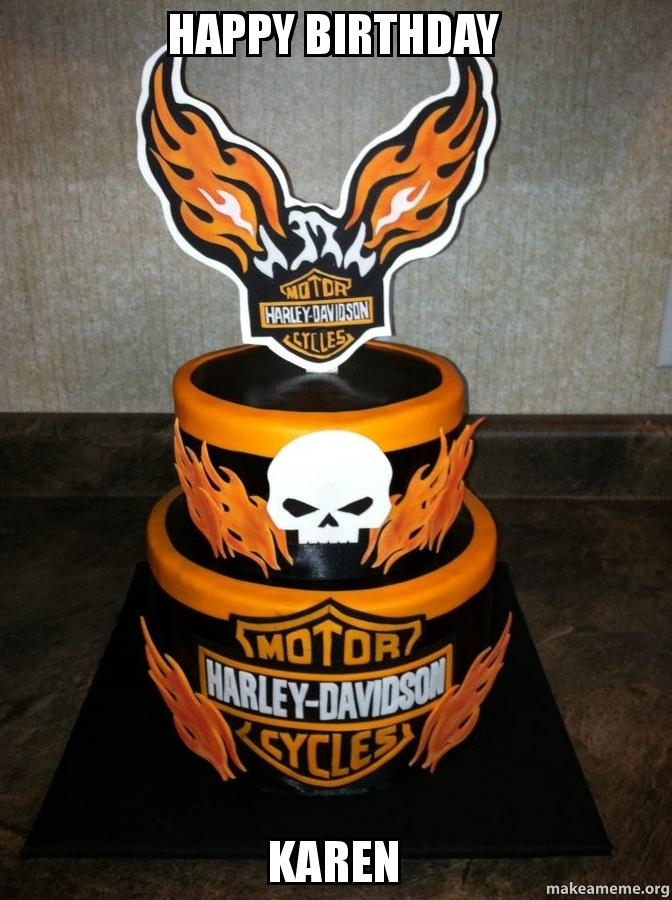 Harley Davidson Cake Toppers