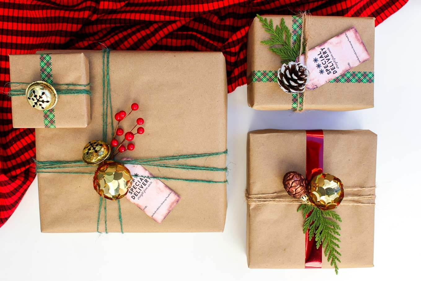 Easy Dollar Store Christmas T Wrap Ideas Free T Tags
