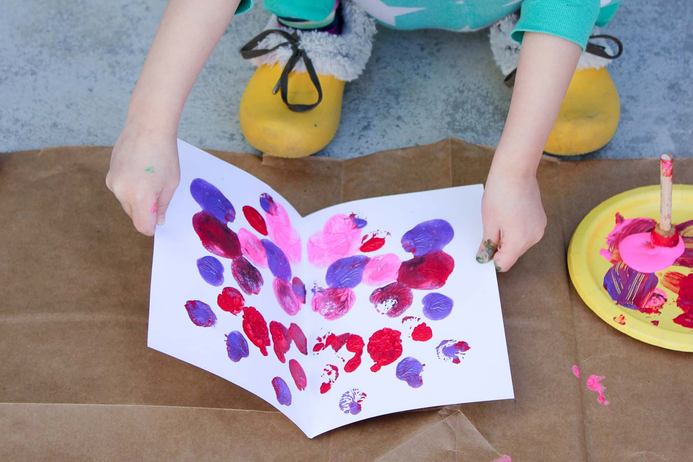 Spring Butterflies Art Project For Kids 3 Make Amp Do Crew