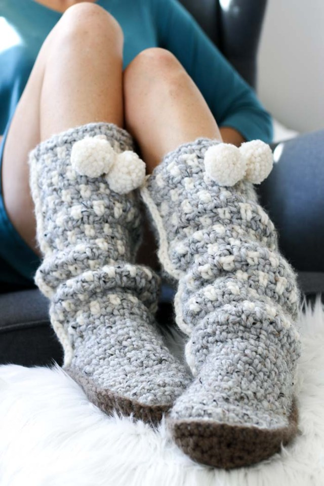 Free Crochet Patterns For Shoes And Slippers Crafty Tutorials
