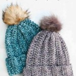 1 Hour Free Crochet Hat Pattern For Beginners Step By Step Video Tutorial