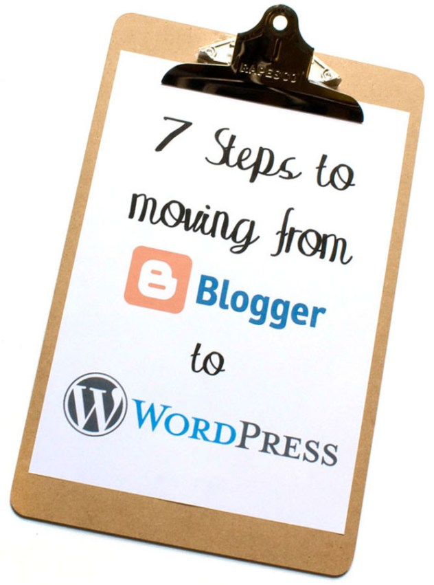 7 Steps to moving your Bloger to WordPress